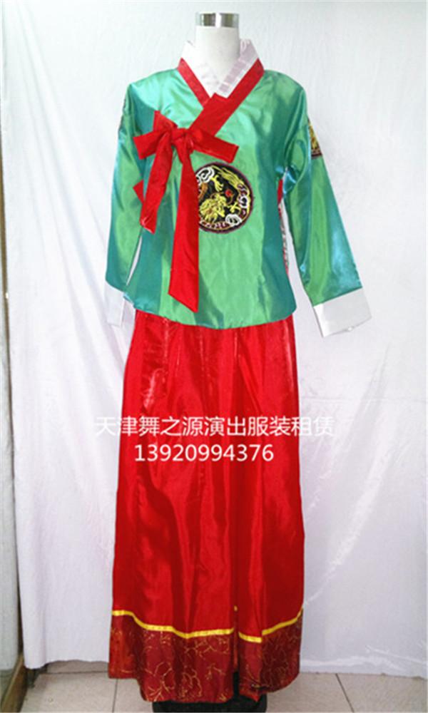 朝鲜上绿下红4