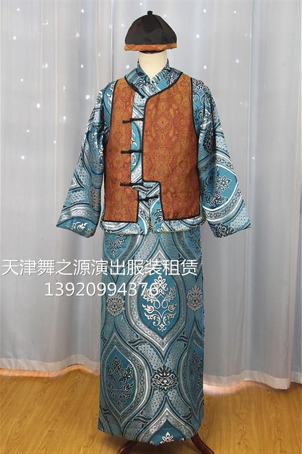 长袍马褂11